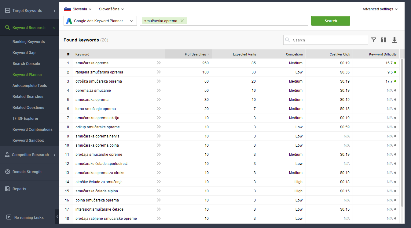 seo powersuite rank tracker