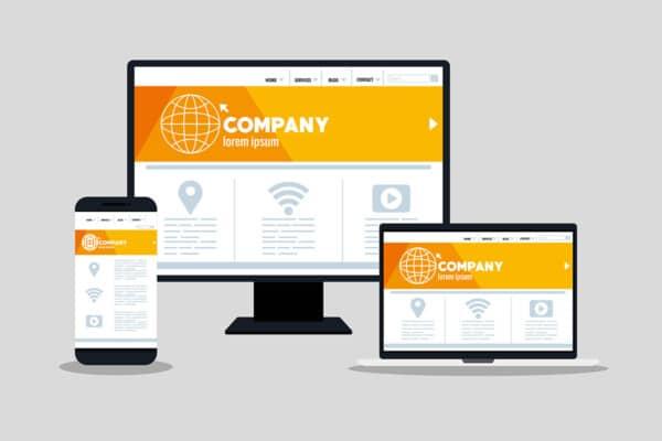 spletna stran prilagojena za mobilne naprave