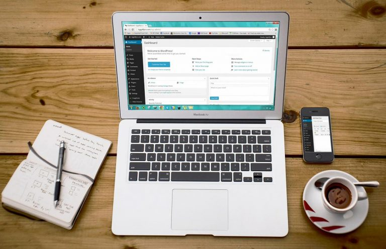 wordpress laptop