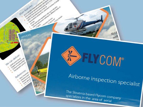 Flycom 00 graficno oblikovanje