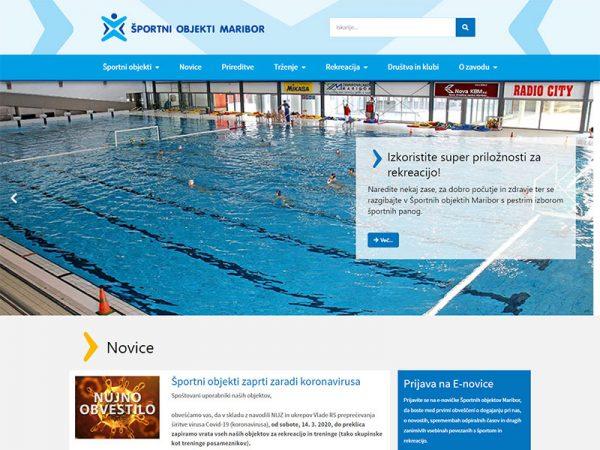 www sportni objekti maribor