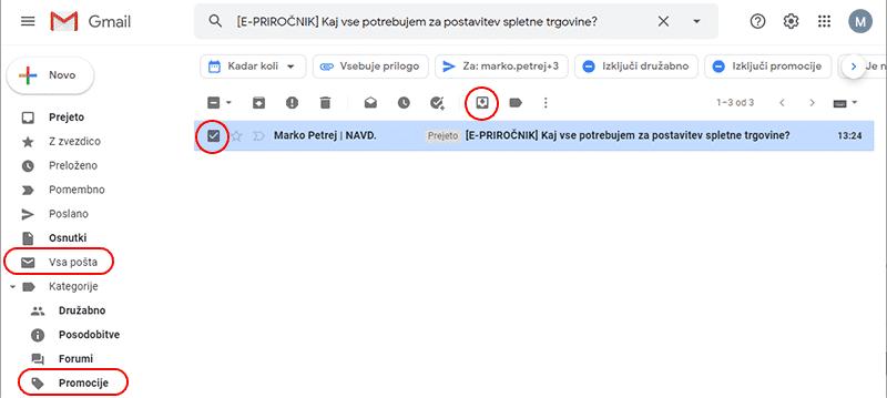 gmail navodila za emailing 2 1