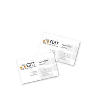 EDIT 01 graficno oblikovanje dopis vizitka