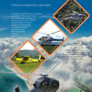 Flycom 01 graficno oblikovanje letak