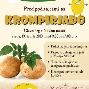 KZ Krka 07 graficno oblikovanje plakat