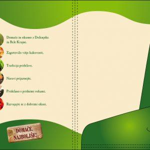 KZ Krka 11 graficno oblikovanje mapa