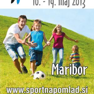 Sportna pomlad 02 graficno oblikovanje plakat