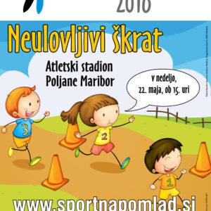 Sportna pomlad 05 graficno oblikovanje plakat skrat