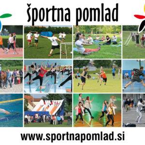 Sportna pomlad 11 graficno oblikovanje razglednica